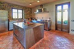 Luxury Stone House for sale in Piemonte Italy - Luxury Kitchen