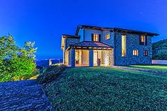 Luxury Stone House for sale in Piemonte Italy - Panoramic Position