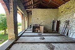 Cascina in pietra in vendita in Piemonte - Barn area