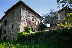 Group of Langhe Stone Properties for sale in Piemonte Italy - Side view