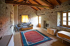 Group of Langhe Stone Properties for sale in Piemonte Italy - Guest Living area