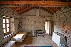 Group of Langhe Stone Properties for sale in Piemonte Italy - Guest Bedroom
