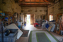 Group of Langhe Stone Properties for sale in Piemonte Italy - Storage area