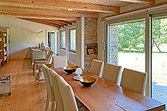Luxury Restored Stone House for sale in Piemonte - Dining area