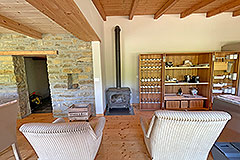 Luxury Restored Stone House for sale in Piemonte - Living area