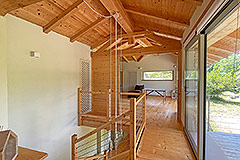 Luxury Restored Stone House for sale in Piemonte - Exposed wooden ceiling