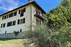 Two Restored Country Houses for sale in Piemonte - Elevated position