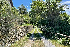 Two Restored Country Houses for sale in Piemonte - Driveway