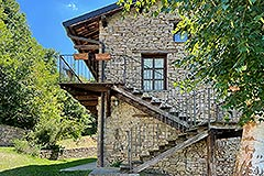 Two Restored Country Houses for sale in Piemonte - House 2 built from stone