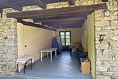 Two Restored Country Houses for sale in Piemonte - Outside living area