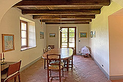 Two Restored Country Houses for sale in Piemonte - Dining area