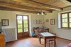 Two Restored Country Houses for sale in Piemonte - Office