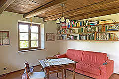 Two Restored Country Houses for sale in Piemonte - Living area