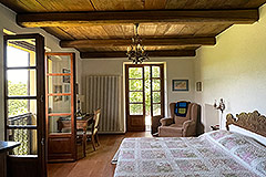 Two Restored Country Houses for sale in Piemonte - Bedroom