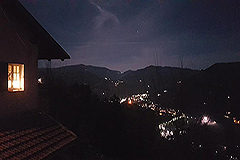 Two Country Houses for sale in the Langhe Hills - Evening views